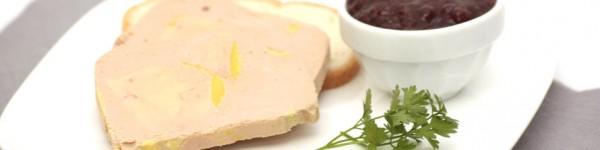Foie gras mi-cuit au Monbazillac et poivre de Muntok